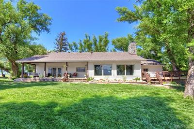 Monument Single Family Home Under Contract: 16440 Old Denver Road