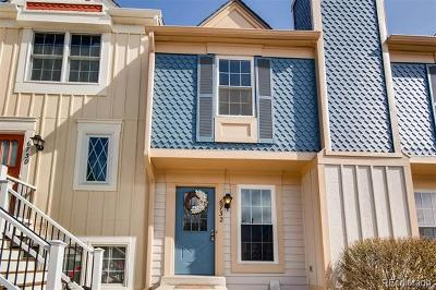 Littleton Condo/Townhouse Active: 6732 South Holland Way