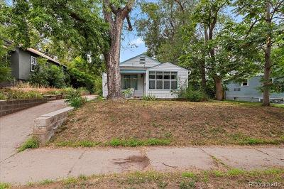 Denver Residential Lots & Land Under Contract: 1955 South Lafayette Street