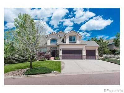 Castle Rock Single Family Home Under Contract: 3062 Cherry Plum Way
