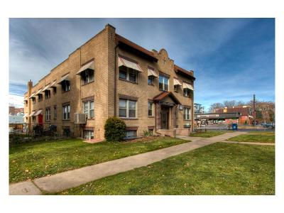 Denver Multi Family Home Active: 1675 North Gilpin Street