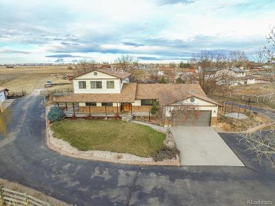 Greeley Single Family Home Under Contract: 16229 Highway 392