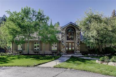 Golden, Lakewood, Arvada, Evergreen, Morrison Single Family Home Active: 32142 Eagle Brook Drive