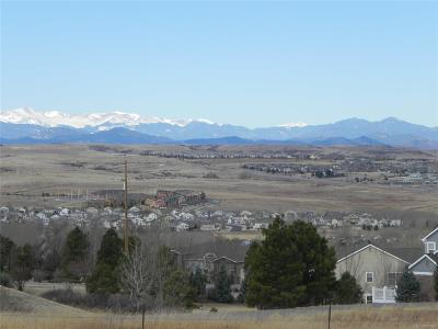 Douglas County Residential Lots & Land Active: 8403 North Sunburst Trail