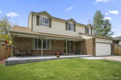 Littleton Single Family Home Active: 7229 South Iris Court