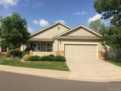 Wheat Ridge Single Family Home Under Contract: 3939 Lee Circle