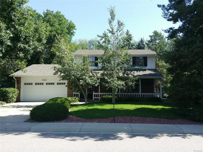 Littleton Single Family Home Active: 5525 West Leawood Drive