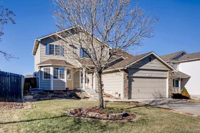 Aurora Single Family Home Under Contract: 6093 South Quatar Way
