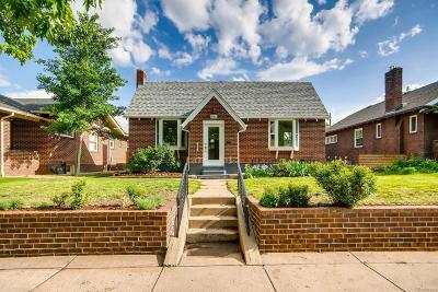 Denver Single Family Home Active: 3150 West 37th Avenue