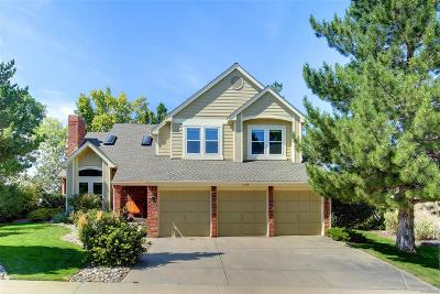 Castle Pines Single Family Home Under Contract: 7245 Middleham Place