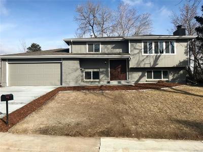 Littleton Single Family Home Under Contract: 673 Omega Lane