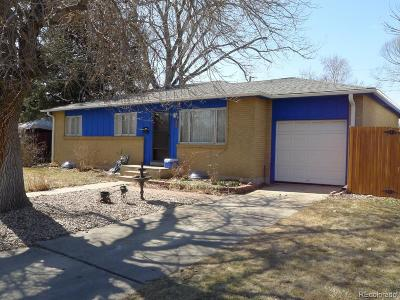 Arvada Single Family Home Under Contract: 6593 Moore Street
