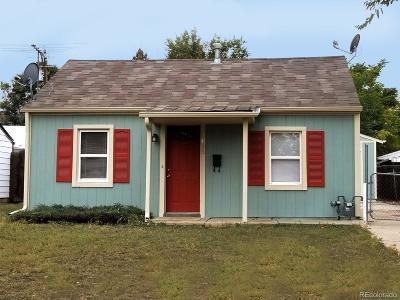 Denver Single Family Home Active: 1015 South Newton Street