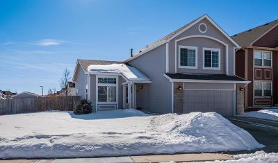 Castle Rock Single Family Home Under Contract: 4826 Sutton Street