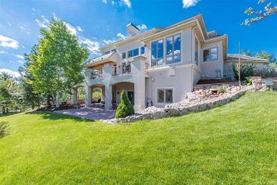 Castle Rock Single Family Home Under Contract: 937 Aztec Drive