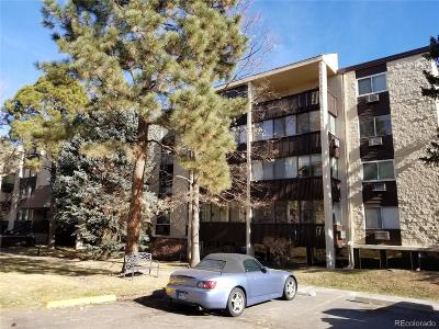 Denver County Condo/Townhouse Under Contract: 6940 East Girard Avenue #309