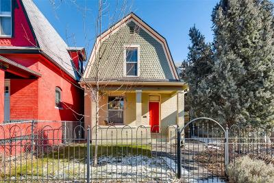 Denver Single Family Home Active: 342 Elati Street