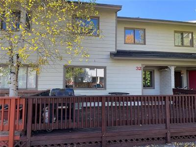 Steamboat Springs Condo/Townhouse Active: 32 Cedar Court