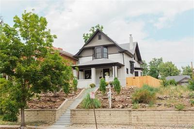 Denver Single Family Home Active: 3459 West 29th Avenue