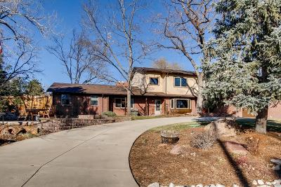 Arvada Single Family Home Under Contract: 10805 West 73rd Place