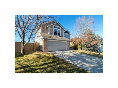 Castle Rock Single Family Home Under Contract: 4945 North Sungold Lane