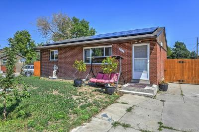 Commerce City Single Family Home Under Contract: 6196 Oneida Street