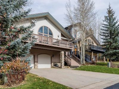 Steamboat Springs Single Family Home Under Contract: 2660 Windward Way
