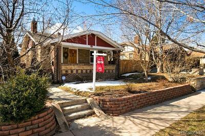 Denver Single Family Home Active: 3338 West 36th Avenue