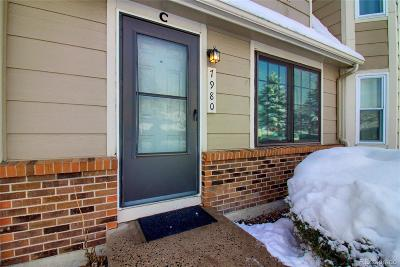 Arvada Condo/Townhouse Under Contract: 7980 Chase Circle #C