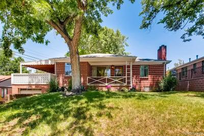 Denver Single Family Home Under Contract: 7025 East 11th Avenue