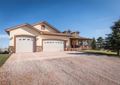 Colorado Springs Single Family Home Under Contract: 8155 Cochise Road