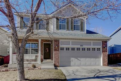 Highlands Ranch Single Family Home Under Contract: 873 Riddlewood Lane