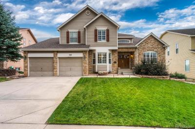 Castle Pines Single Family Home Under Contract: 543 Stonemont Drive