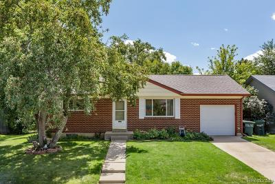 Northglenn Single Family Home Under Contract: 2044 East 115th Avenue