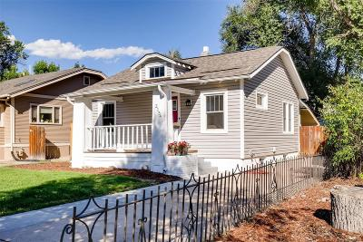 Denver Single Family Home Active: 2154 South Gilpin Street