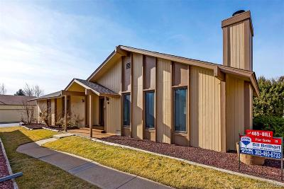 Broomfield Single Family Home Under Contract: 50 Douglas Drive