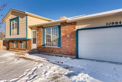 Thornton Single Family Home Active: 10984 Elm Drive