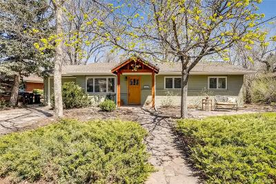 Boulder Single Family Home Active: 170 South 32nd Street