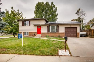 Arvada Single Family Home Under Contract: 7107 Wright Court