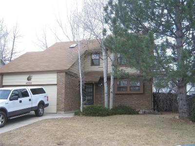 Adams County Single Family Home Active: 4550 East 107th Avenue