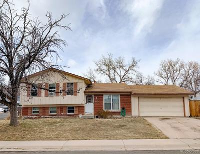 Morrison Single Family Home Under Contract: 4449 South Alkire Street