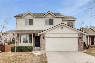 Northglenn Single Family Home Active: 3480 East 107th Avenue