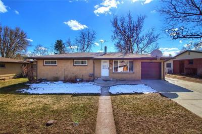 Littleton Single Family Home Under Contract: 3328 West Aksarben Avenue