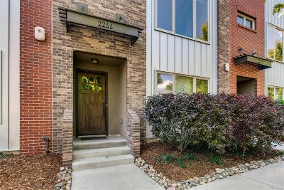 Condo/Townhouse Under Contract: 2266 West 31st Avenue