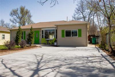 Littleton Single Family Home Under Contract: 6142 South Spotswood Street