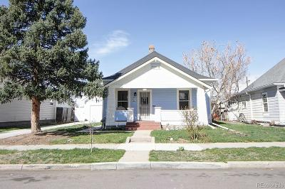 Denver Single Family Home Active: 611 Lowell Boulevard