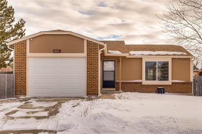 Aurora Single Family Home Active: 4280 South Biscay Circle