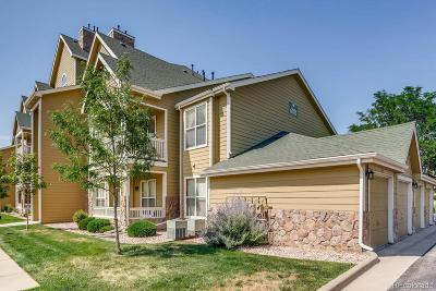 Castle Rock Condo/Townhouse Under Contract: 6021 Castlegate Drive #E11