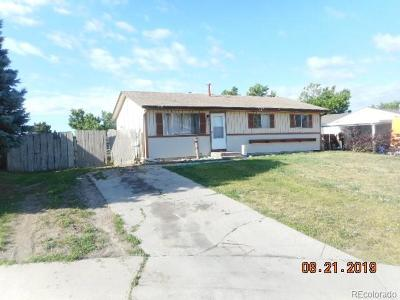 Denver Single Family Home Active: 2270 East 82nd Place