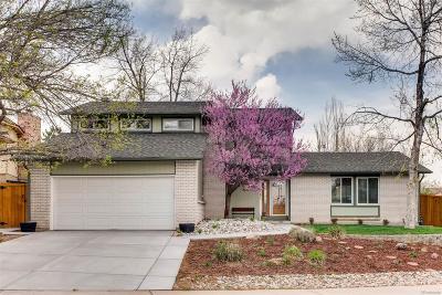 Littleton Single Family Home Active: 7701 West Alder Drive